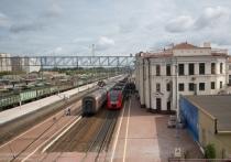 В Тульской области пассажирский поезд остановился по техническим причинам