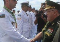 Первый замминистра обороны Цаликов принял участие в награждении победителей конкурса «Кубок моря» Армейских международных игр-2020