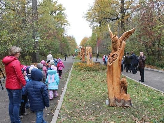 Чебоксарская ГЭС передала Ельниковской роще оборудование для лесоочистки