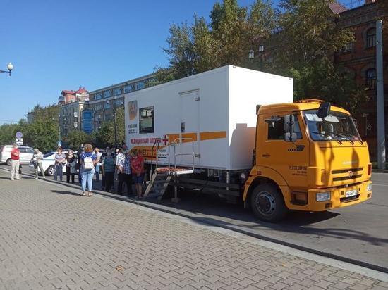 В Хабаровске стартовала мобильная вакцинация от гриппа