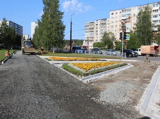 Темпы работ по ремонту тротуаров в Петрозаводске необходимо ускорить