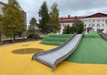 В Ноябрьске сквер Геологов открыли после реконструкции
