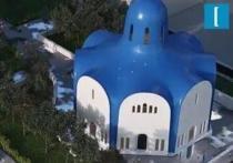 Обычным новый храм во имя Спаса Нерукотворного в микрорайоне Парковый в Котельниках уж точно не будет