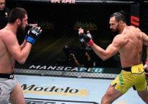 На шоу UFC Fight Night 176 Зелим Имадаев обещал разгромить соперника, но в итоге был избит