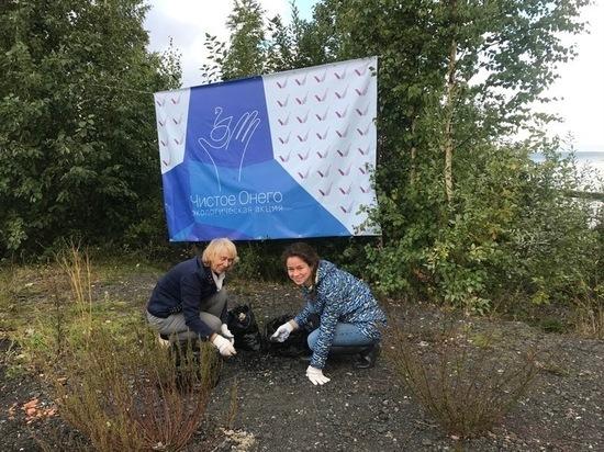 В Петрозаводске прошла масштабная акция по уборке прибрежной полосы