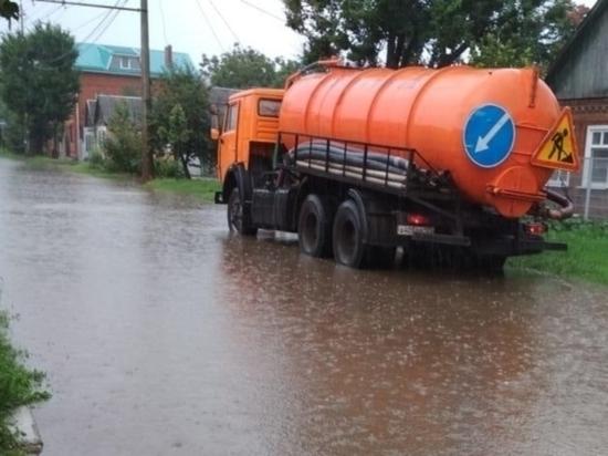 Спецтехника дежурит в Краснодаре на случай подтоплений