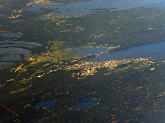 Российский астронавт сфотографировал Петрозаводск из космоса