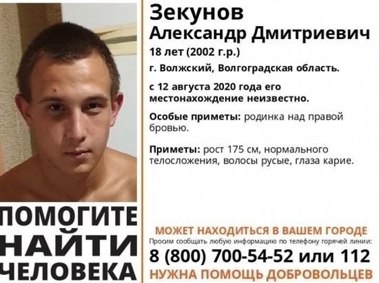 Под Волгоградом ищут 18-летнего парня с родинкой