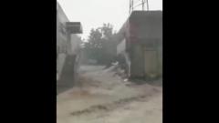 Новороссийск затопило из-за ливней: кадры подводных улиц