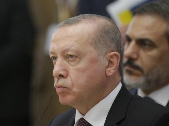 Эрдоган обратился к ЕС из-за ситуации в Восточном Средиземноморье
