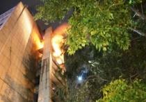 Серьезный пожар был потушен в барнаульской многоэтажке