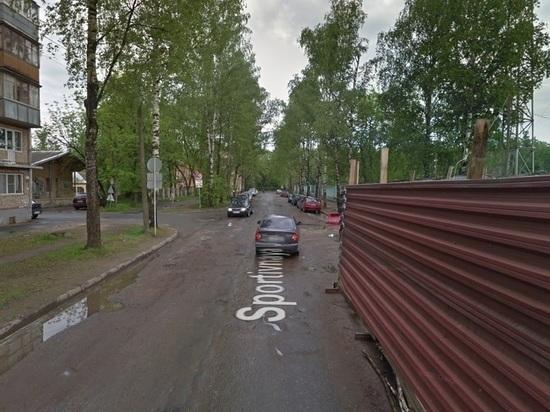 Часть улицы Спортивной в Пскове перекрыта до 9 сентября