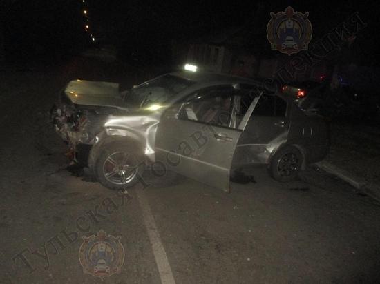 В ДТП под Тулой пострадали 3 человека