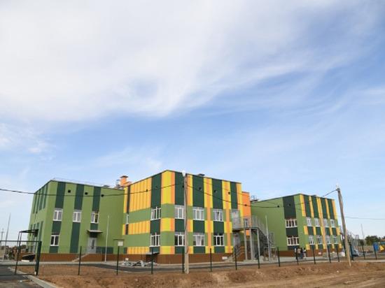 В волгоградском селе завершается строительство детсада на 140 мест