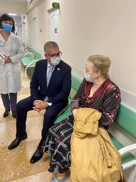 Игорь Сапко посетил одну из поликлиник столицы Прикамья