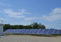 В Адыгее заработала первая в регионе солнечная электростанция