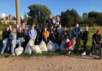 120 кг мусора собрали волонтеры в Опочке
