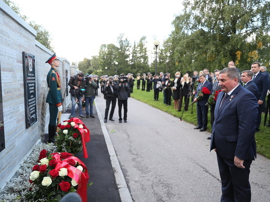 В Северной столице России открыта памятная плита в честь подвигов наших земляков – защитников блокадного Ленинграда