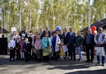 Жители Тулуна получили ключи от новых домов