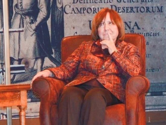 Алексиевич отказалась покидать Белоруссию
