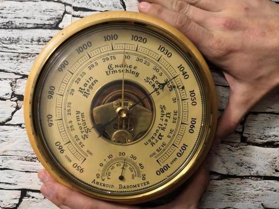 Атмосферное давление в Петербурге упало ниже некуда