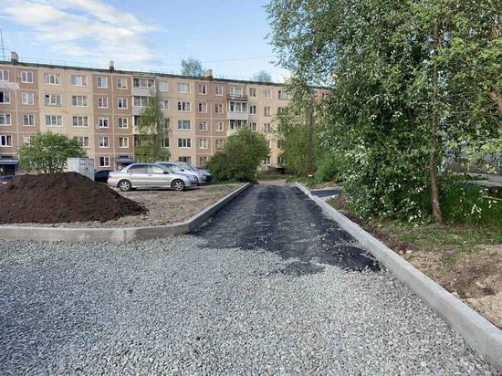 Стало известно, какие дворы Петрозаводска благоустроят в 2021 году
