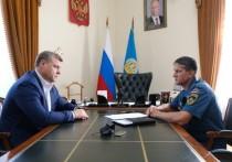 Игорь Бабушкин предложил помощь Казахстану в тушении очагов природных пожаров