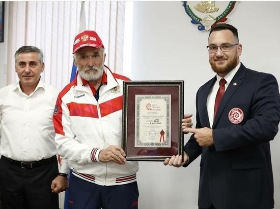 Дагестанец вошёл в Книгу рекордов России