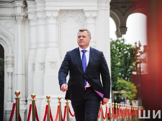 Как проходила инаугурация губернатора Астраханской области Игоря Бабушкина: кадры памяти