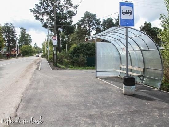 В Смоленске плотно взялись за обустройство новых тротуаров