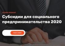 Центр инноваций социальной сферы Санкт-Петербурга (проект «Мой бизнес») приглашает предпринимателей принять участие в вебинаре «Социальное предпринимательство: всё только начинается. Субсидии для социального предпринимательства-2020»