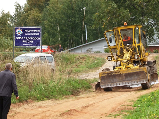 Союз садоводов завершил грейдирование дорог к СНТ в Кирово-Чепецком районе