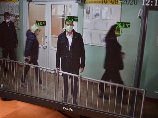 В четырех крупных школах Вологды установлены тепловизоры