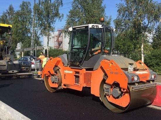 В мэрии Петрозаводска рассказали о ходе дорожных работ в городе