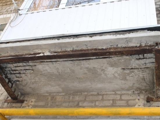 Жилинспекция обследовала дом после обрушения балкона в Волгограде