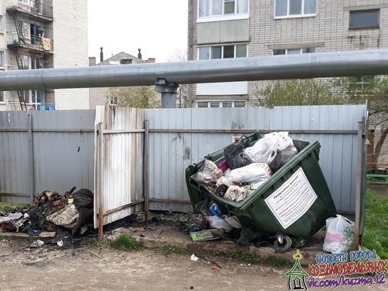 В Марий Эл отправится в суд поджигатель мусорных контейнеров