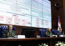 Заместитель министра обороны России генерал-полковник Александр Фомин провел брифинг для представителей военно-дипломатического корпуса
