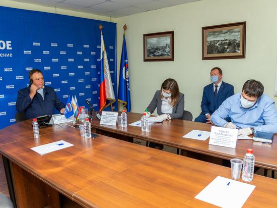 Олег Валенчук провел прием граждан по вопросам здравоохранения