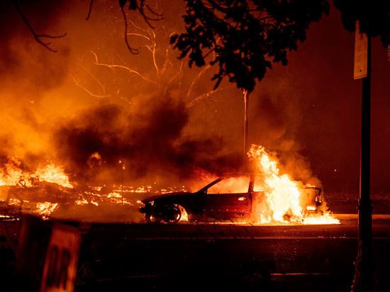 Небо в огне сгорает: почему горят леса на Западном побережье США