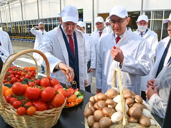 Министр экономического развития РФ с рабочей поездкой посетил Калужскую область