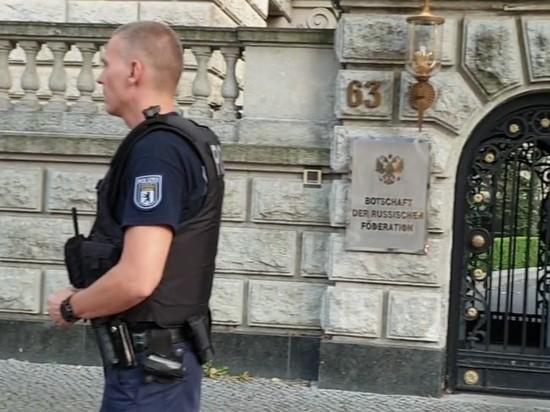Пожарная тревога в российском посольстве в Берлине оказалась ложной