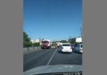 Движение в южном районе Волгограда парализовано ДТП