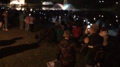 Светомузыкальный фонтан появился в Пскове