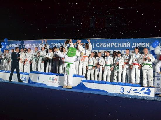 В Барнауле состоялся финал Сибирского дивизиона Детской лиги дзюдо «Триумф Energy»