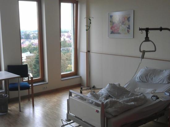 В Германии пациенты с симптомами коронавируса лежат в общих палатах