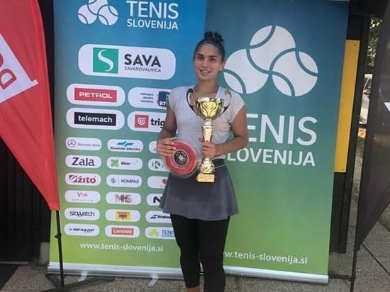 Дагестанская теннисистка выиграла международный турнир