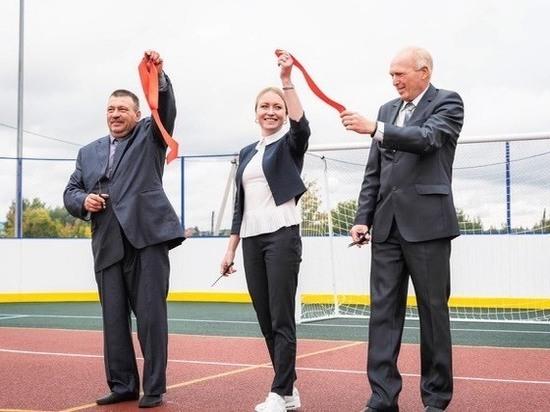 В регионе появились ещё три новые спортивные площадки