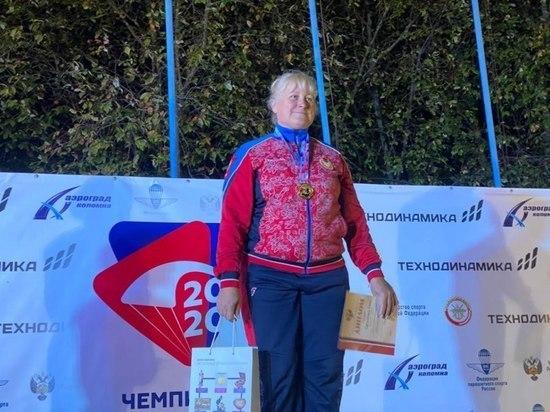 Псковская парашютистка установила новый национальный рекорд