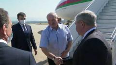 Лукашенко прилетел в Сочи на переговоры с Путиным
