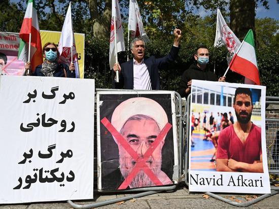 Смертельный приговор Навиду Афкари был вынесен за участие в антиправительственных протестах в 2018-м